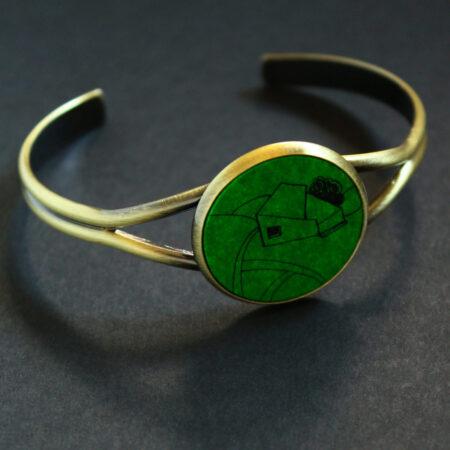 Bracelet «home» pièce unique