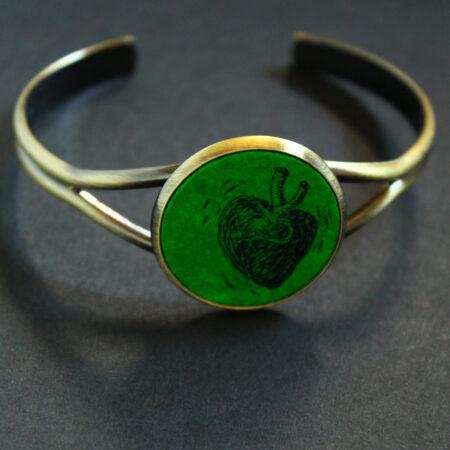 Bracelet «coeur» pièce unique