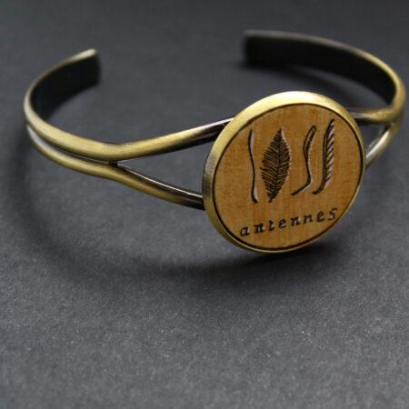 Bracelet «antennes» pièce unique
