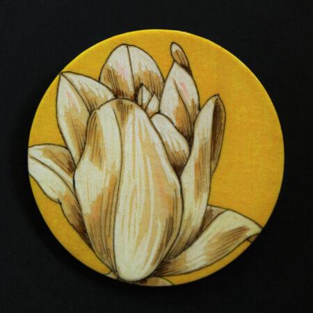 """broche """"tulipe"""" pièce unique"""