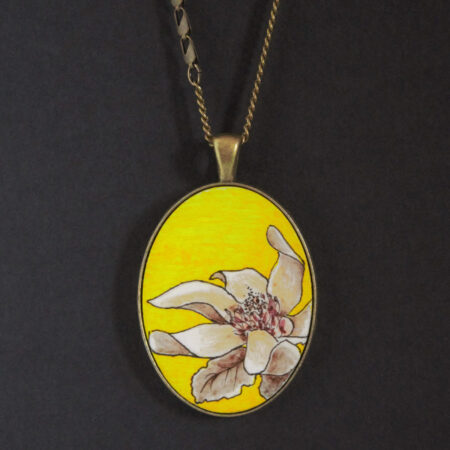 Sautoir «magnolia»