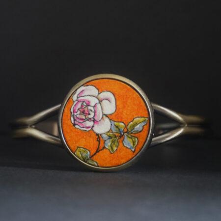 Bracelet «églantine» pièce unique
