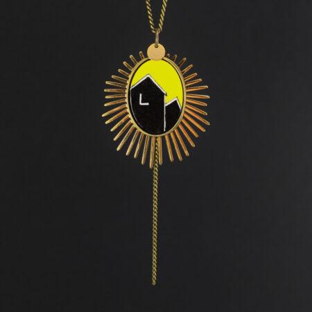collier «cabanons» pièce unique
