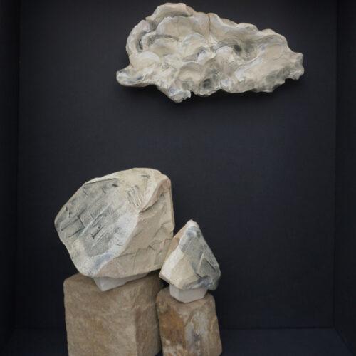céramique Anna Elleouet pièce unique terre émail