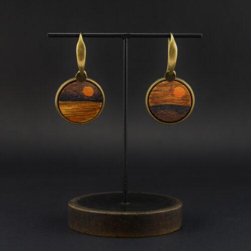 boucles d'oreille pièce unique Anna Elleouet bijoux créateurs fait main Rennes
